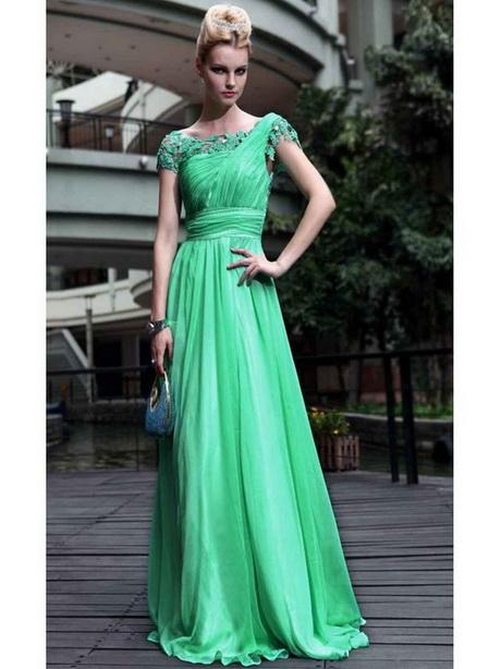 Abendkleid grün lang