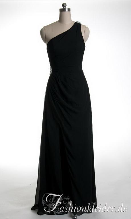 Abendkleid lang schwarz