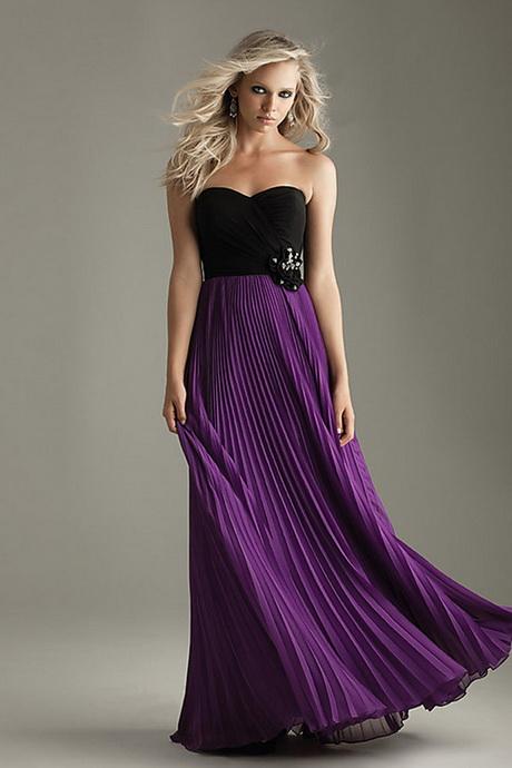 Abendkleid lila