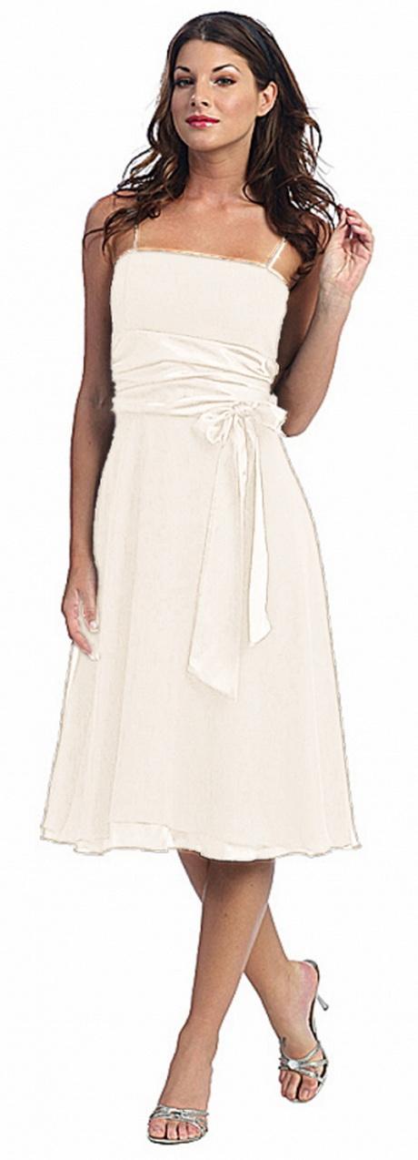 Brautkleid kurz creme