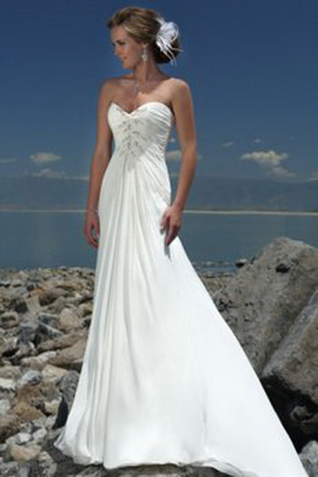 Brautkleid strand