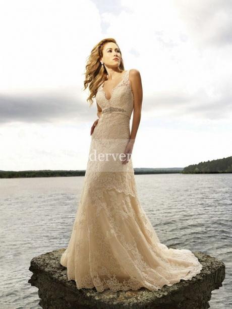 Brautkleider für den strand