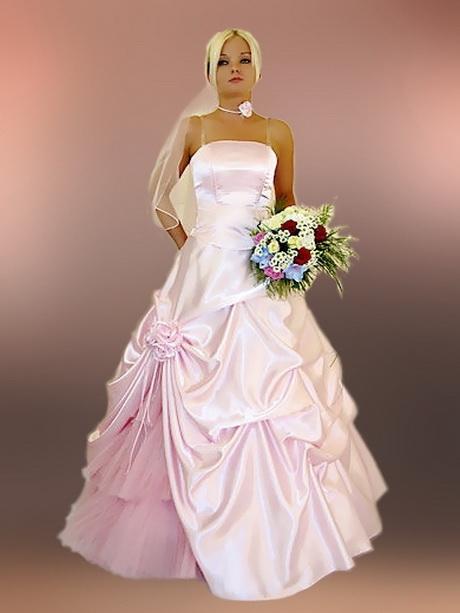Brautkleider rosa