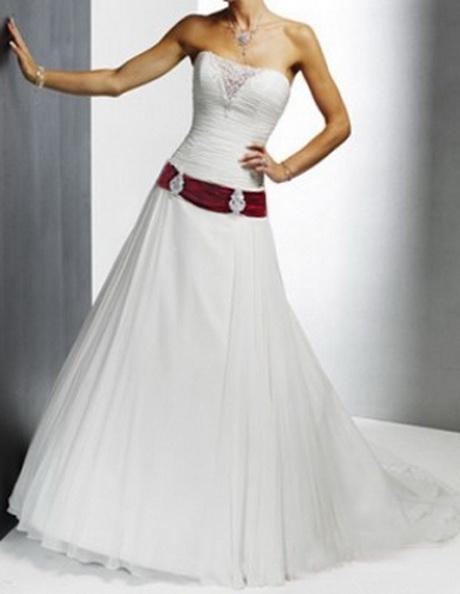 Brautkleid zweifarbig A-Line 32 34 36 38 40 42