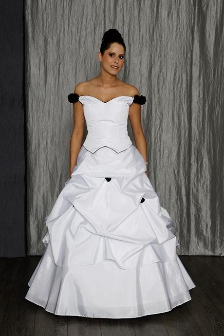 Brautkleider zweifarbig