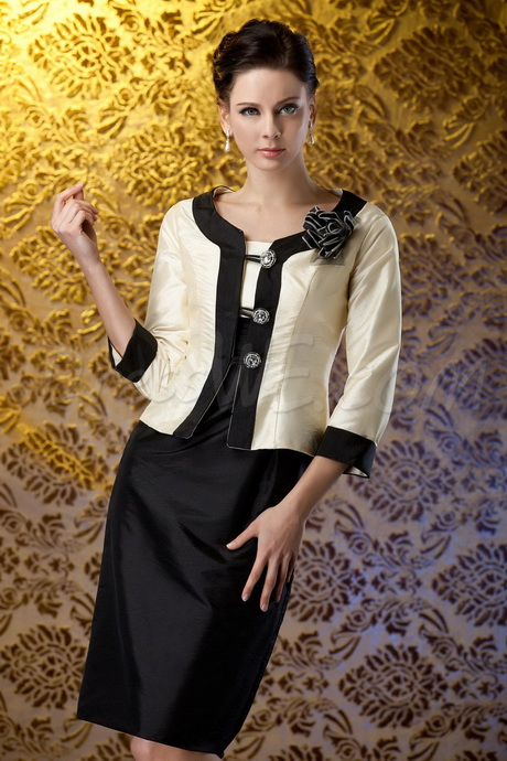 Elegante kleider für brautmutter
