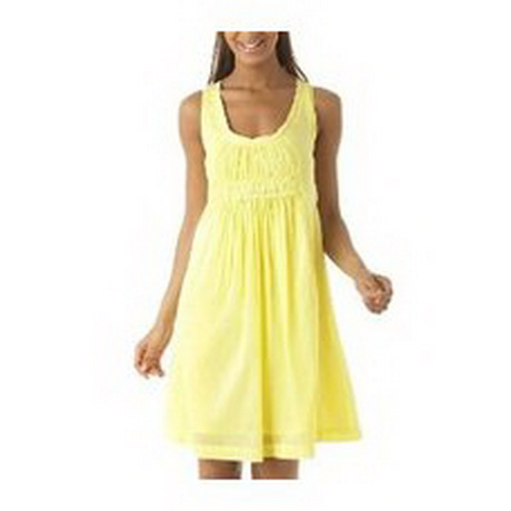 Sommerkleid gelb