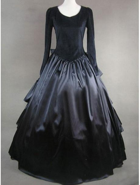 gothic kleider lang
