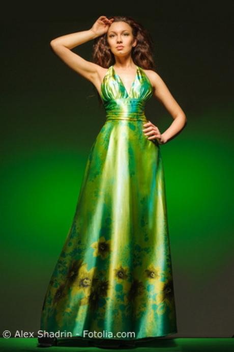 Grünes abendkleider