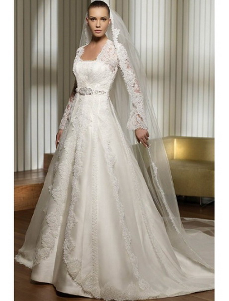Hochzeitskleid mit ärmel