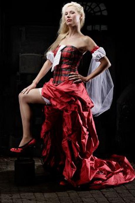 Hochzeitskleid rot for Rotes brautkleid kurz