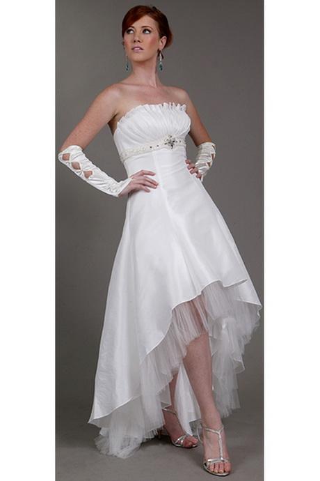 Hochzeitskleid vorne kurz hinten lang
