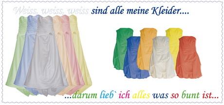 weißes kleid einfärben