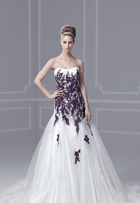 Hochzeitskleider farbig