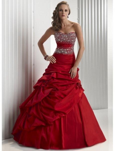 Hochzeitskleider in rot