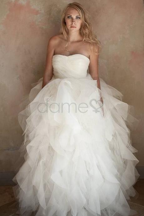 Hochzeitskleider mit tüll