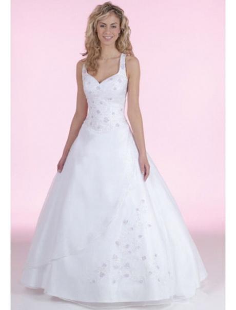 Hochzeitskleider mit träger