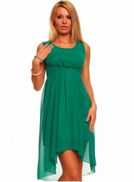 Kleid grün kurz