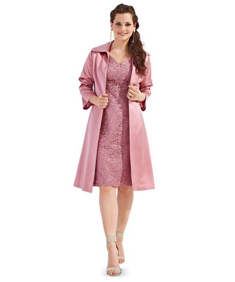 Kleid Mit Mantel