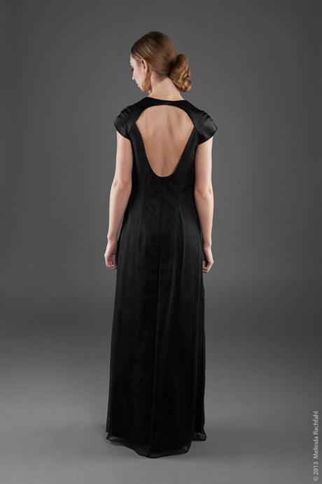 Langes kleid schwarz