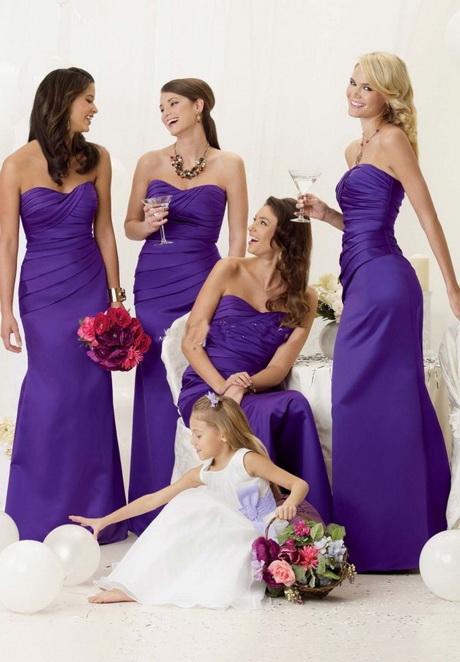 Kleider hochzeit lila