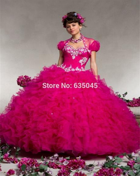 Pinkes ballkleider