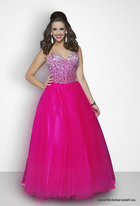 Pinkes kleid mit strass