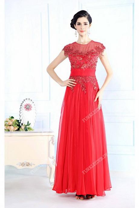 Rote kleider festlich