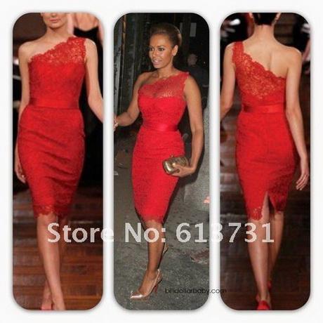 Rote kurze kleider for Kurze enge kleider