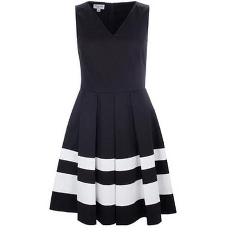 schwarz weiße kleider