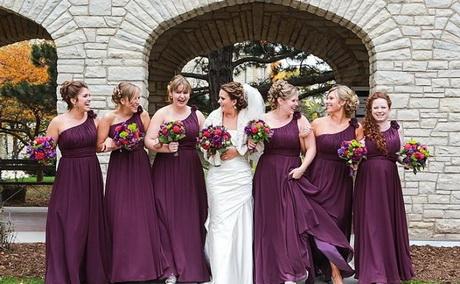 Kleid lila hochzeit