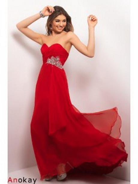 Lange rote kleider