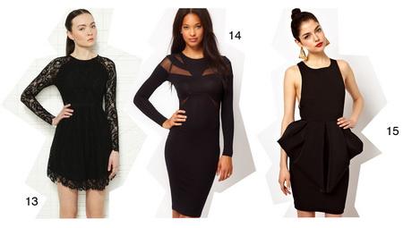 schöne schwarze kleider