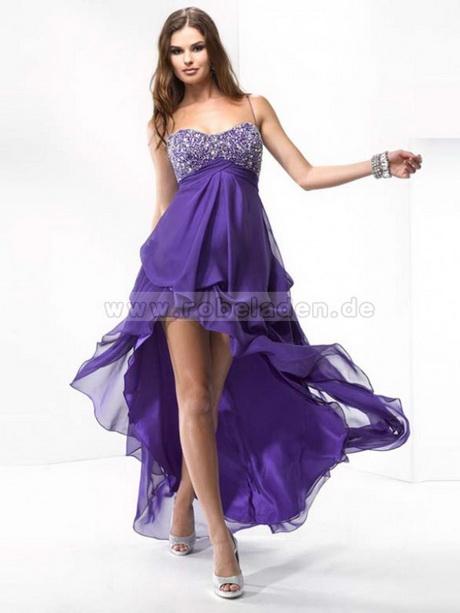 Abendkleid kurz lila