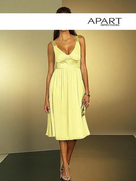Apart kleid gelb
