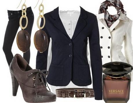 elegantes outfit frau. Black Bedroom Furniture Sets. Home Design Ideas