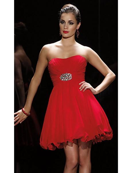 Hochzeit rotes kleid
