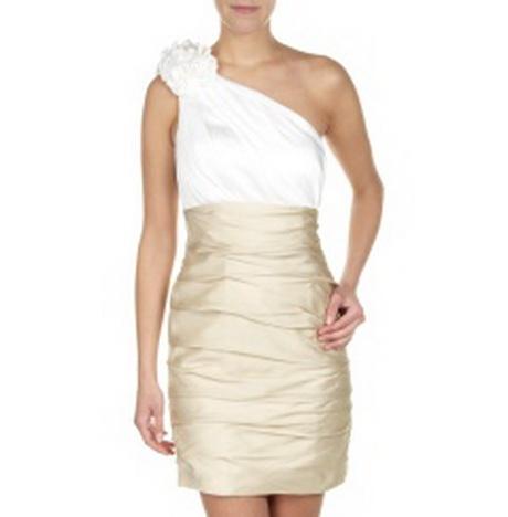 One shoulder kleid laona