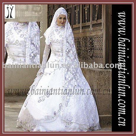 Muslimische hochzeitskleider