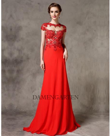 Rote abendkleider damen