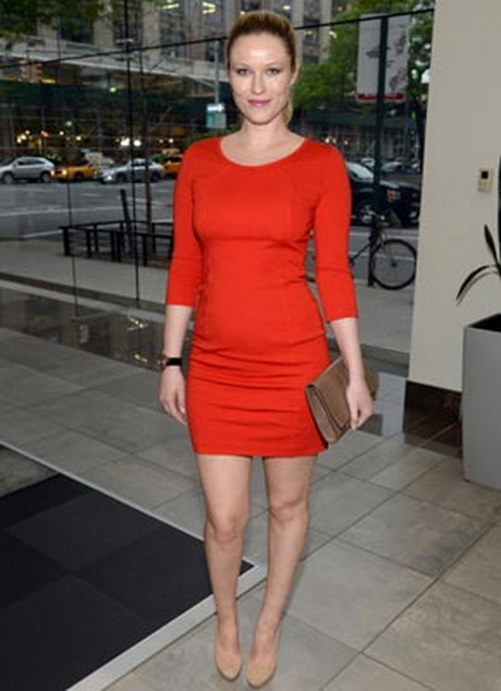 Rotes kleid spitze langarm