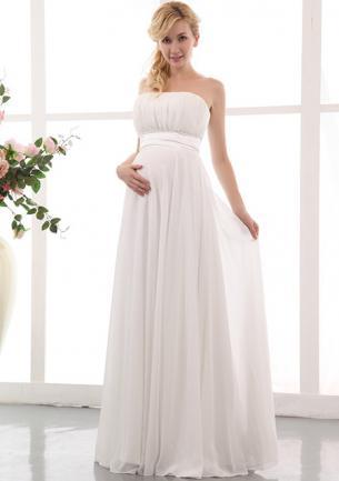 Brautkleid für schwangere standesamt