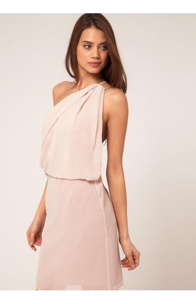 Kleid rückenfrei knielang