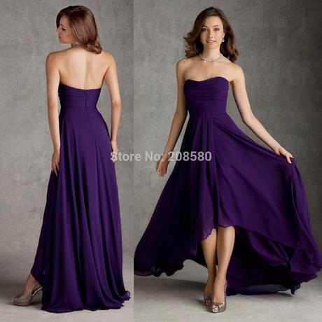 Kleider lila lang