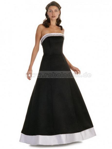Lange kleider schwarz weiß