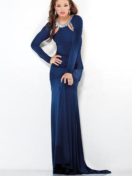 Langes kleid lange armel