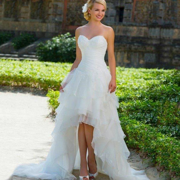 Ungewöhnlich Lange Kurze Brautkleider Fotos - Brautkleider Ideen ...