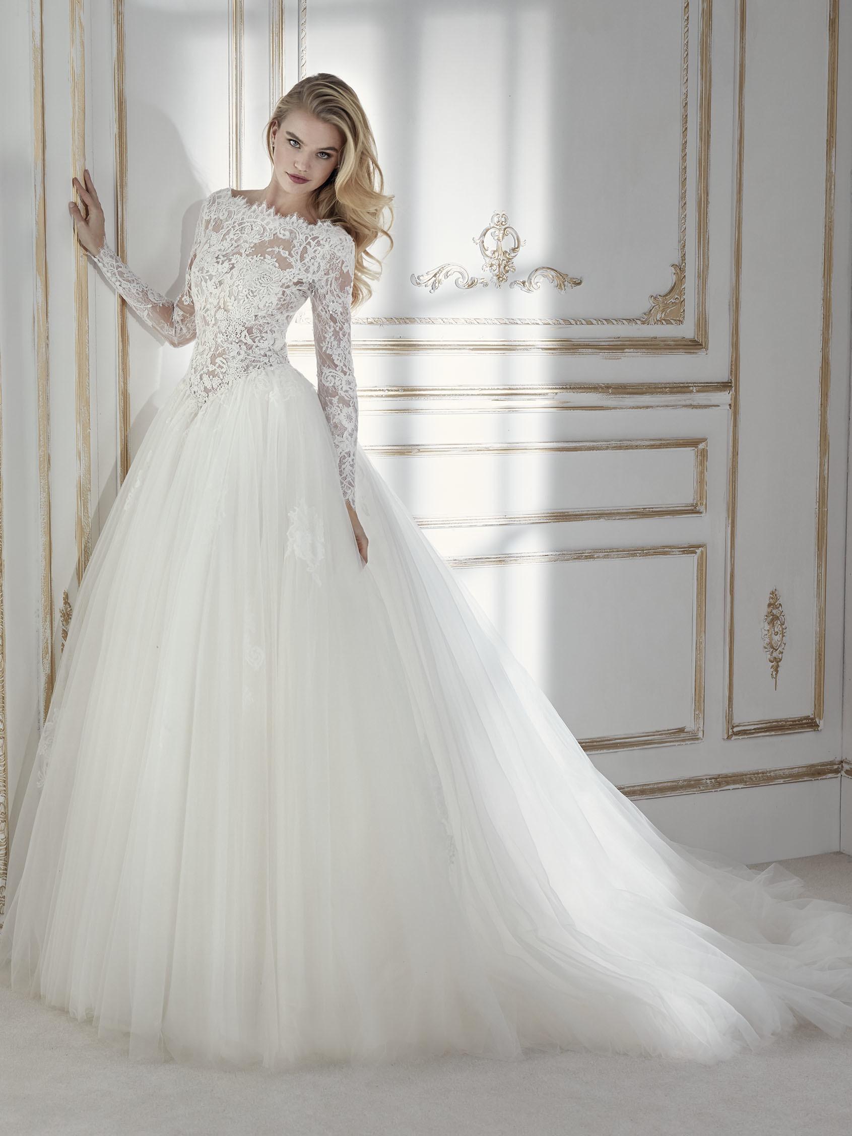 Brautkleider 2018 Prinzessin