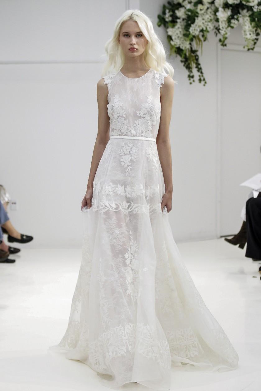 Brautkleider 2018 schlicht
