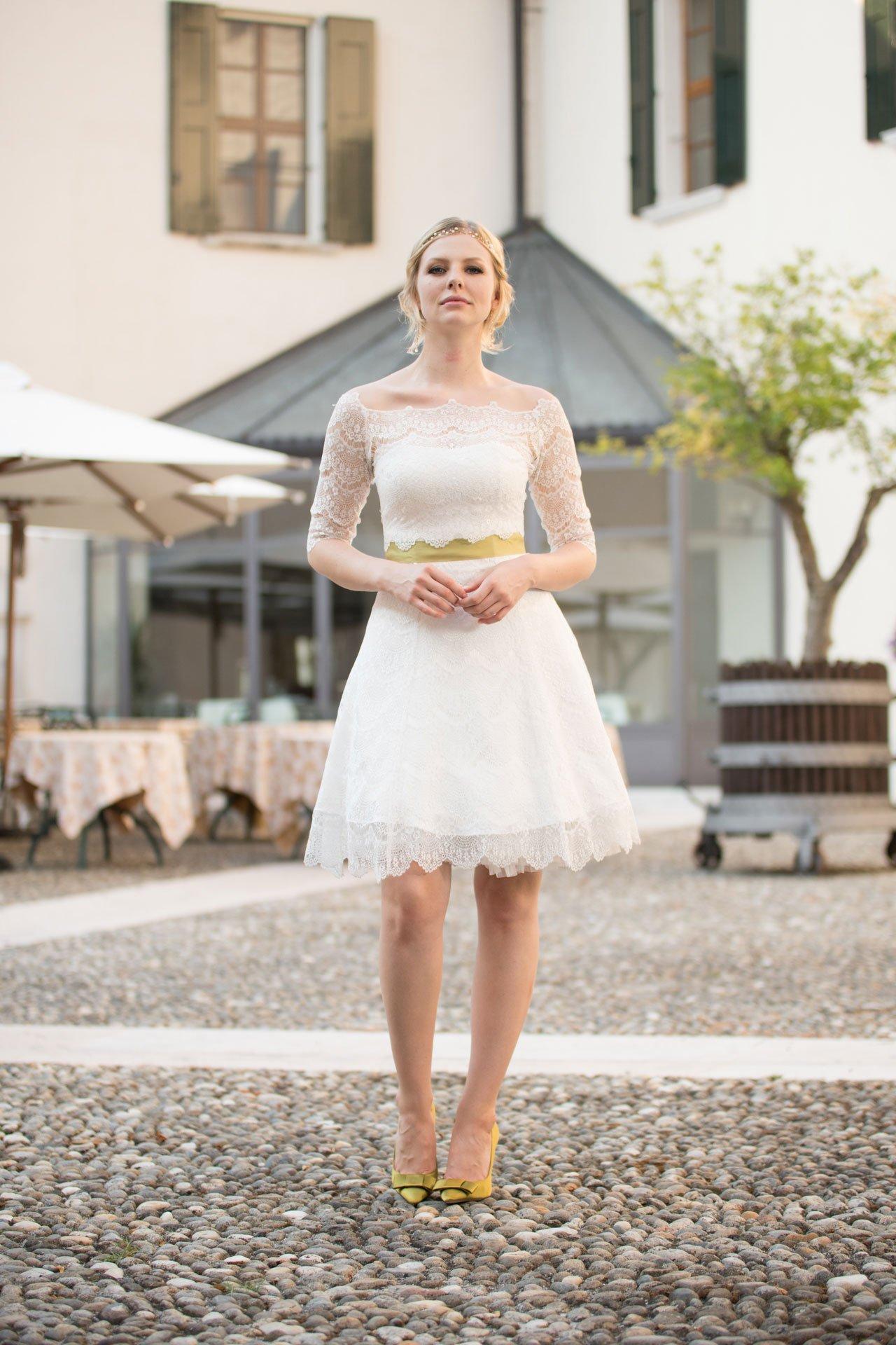 Brautkleider kurz 2018